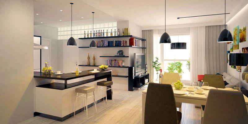 Дизайн 3-х комнатной квартиры, дизайн трехкомнатной